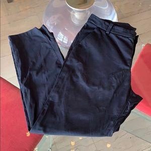 Lululemon Men's Pants 34x28 Navy Blue